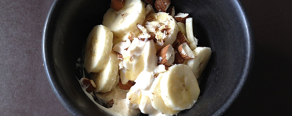 Run Recovery Food Yougurt Snack