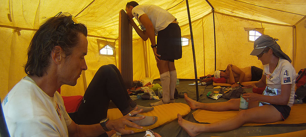 Roger Hanney tent life of an ultra runner