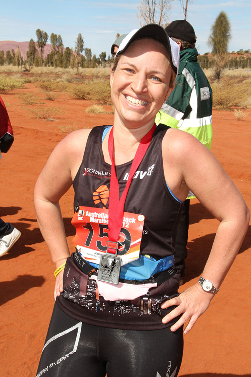 Jayne Andrews End Of Outback Marathon 2012