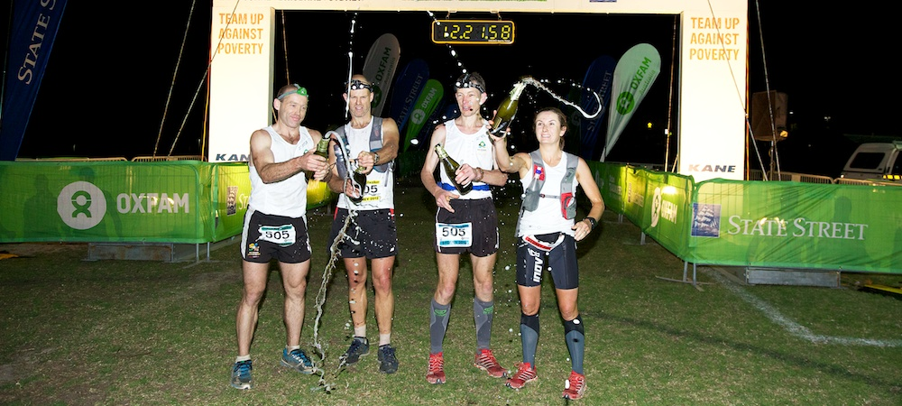 Oxfam Trail Walker 2012 No Roads Expeditions Team Winner Finish