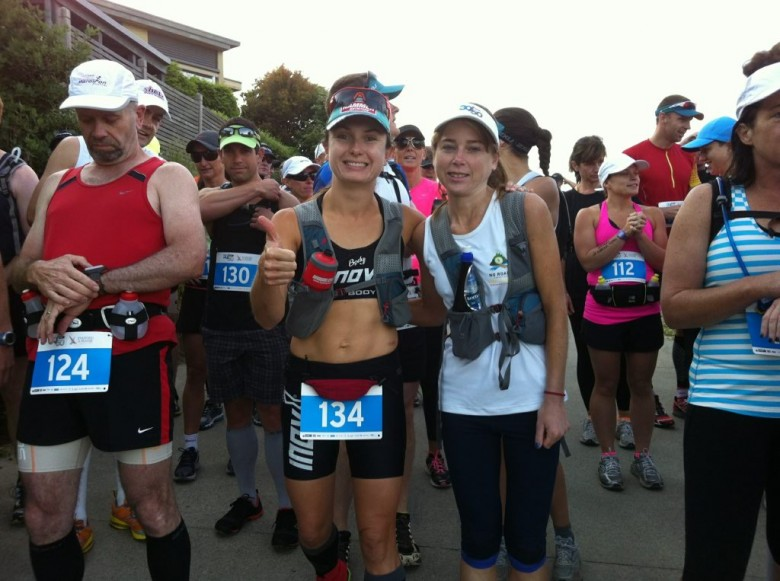 30/50 Challange Shona Stephenson and Beth Cardelli Ultra Running Melbourne 30/50 Challenge 2012