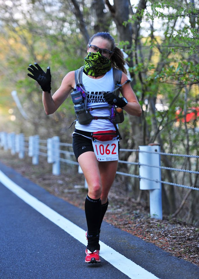 Shona Stephenson UTMF 2nd Place Trail Runner