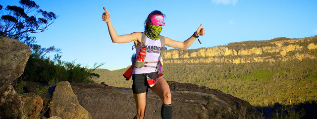 North Face 100 Trail Running Shona Stephenson