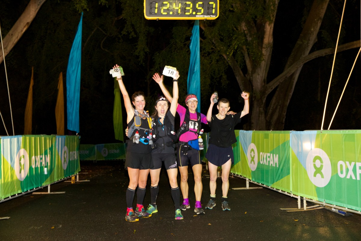 Oxfam TW Brisbane Winning Female Team