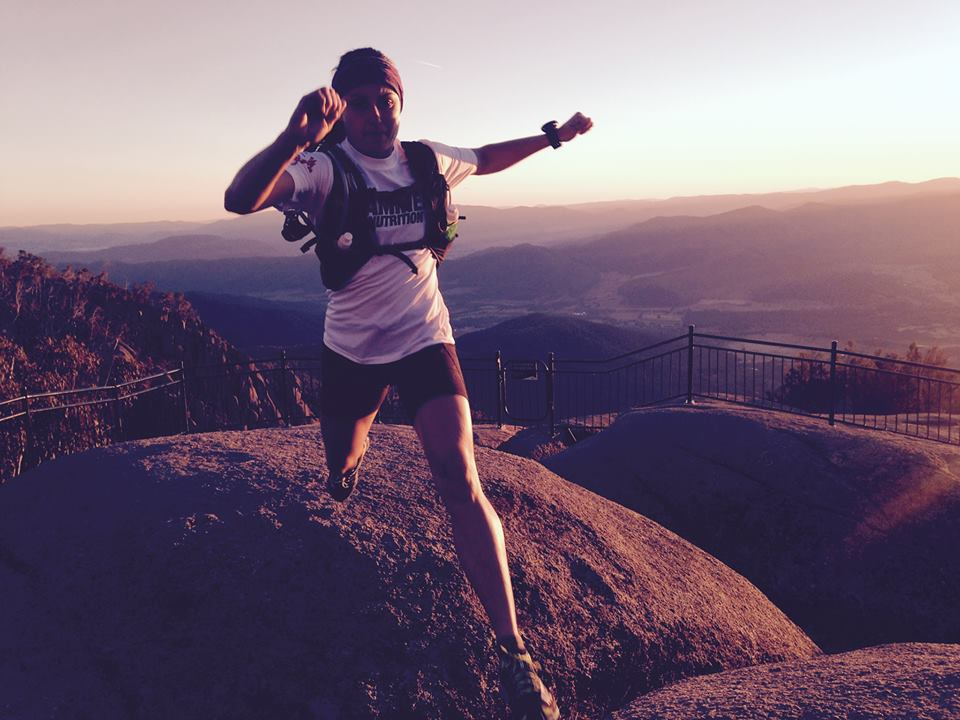 Mt Buffalo boulder hopping with  Inov8 athlete Shona Stephenson