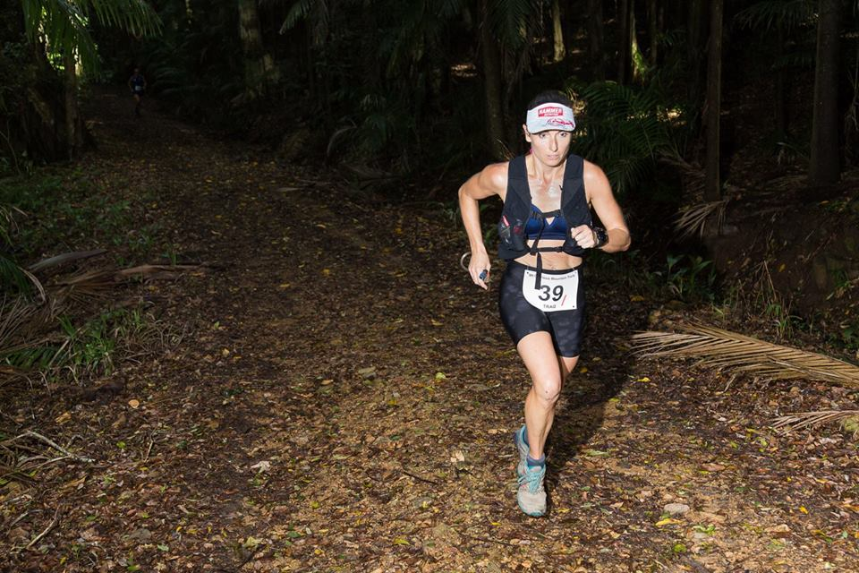 Shona Stephenson Running Into First Place at the Mt Glorious 1/2 Marathon